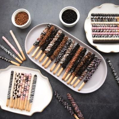P8 메이크마인 심플크런치 막대과자만들기 초콜릿 세트