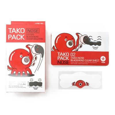 [나이팅게일] 3STEP 타코팩 노즈 [문어코팩] (5매)