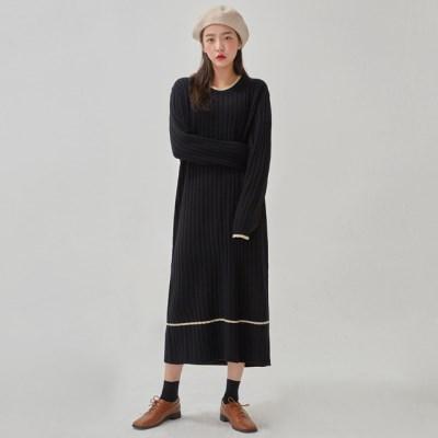 soft ladyish knit long ops_(1066338)