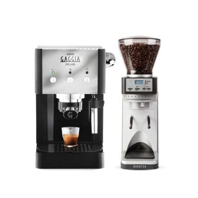 가찌아 그랜 커피머신+바라짜 세테30 그라인더 세트