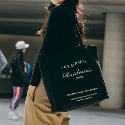 [로아드로아]INFORMAL SHOULDER BAG (BLACK)_(904718)