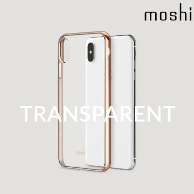 모쉬 아이폰XS Max 투명 소프트케이스 비트로스_골드