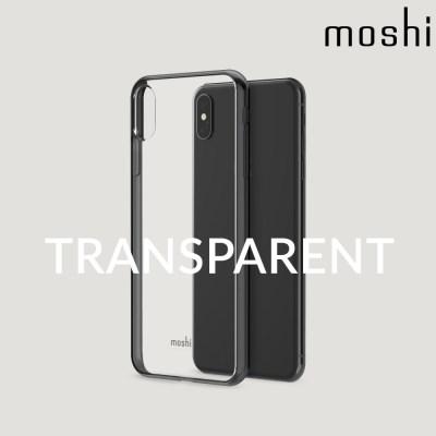 모쉬 아이폰XS Max 투명 소프트케이스 비트로스_블랙