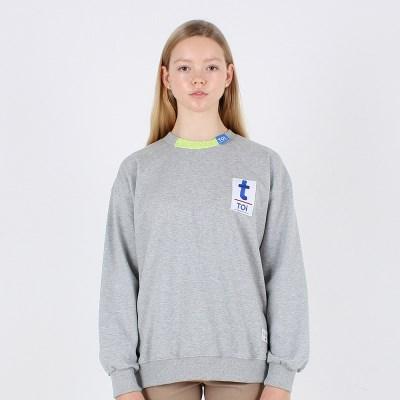 [TOi] TOKYO T로고 스웨트셔츠 그레이