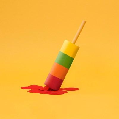 [럭키스] 아이스크림 노트 메모잇 점착 메모지_(1449373)