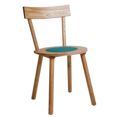 모던 라운드 인테리어 원목 의자
