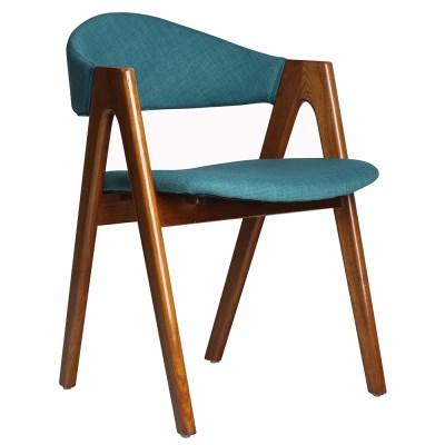 모던 V월넛 인테리어 원목 의자
