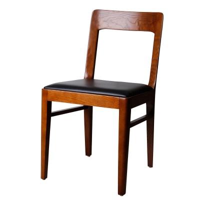 모던 월넛스킨 인테리어 원목 의자