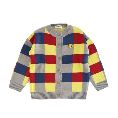 G-COLOR PATCHWORK CARDIGAN*여성용