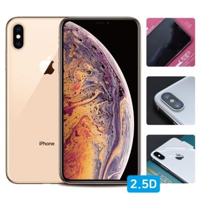 뷰에스피 아이폰XS 2.5D 강화유리+풀유광후면+렌즈필름 각1매