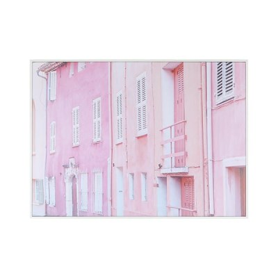 LB Candy House Pink Framed Canvas 66X90_(731215)
