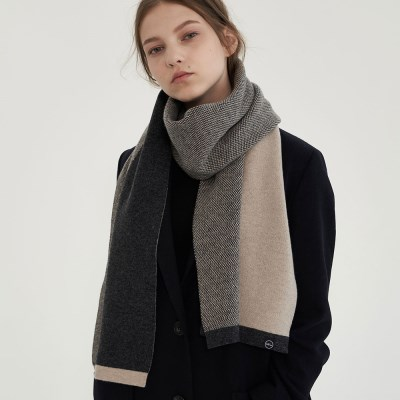 cash two-tone muffer 3color