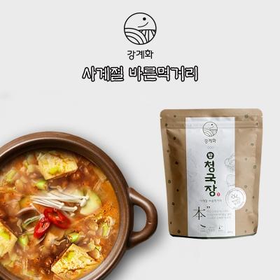 충주 전통 맛집 강계화 콩/밤청국장 신선배송
