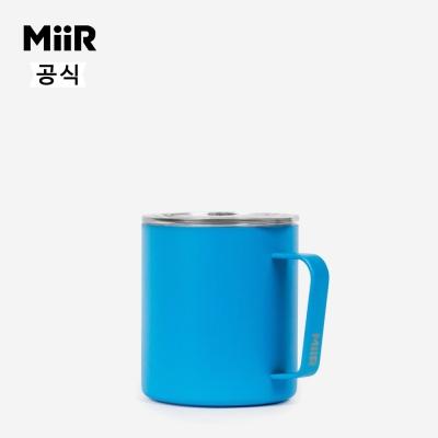 MiiR 미르 캠프 트래블 스텐 머그컵 12oz 355ml 블루 보틀_(1252545)
