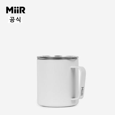 미르 캠프컵 12oz-화이트