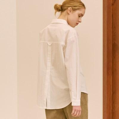 백 컷팅 셔츠(