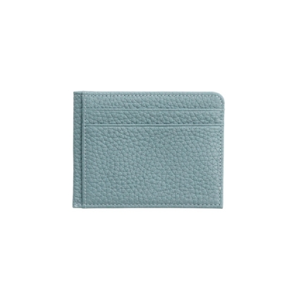 슈렁큰 소가죽 카드지갑(스카이블루)w16872
