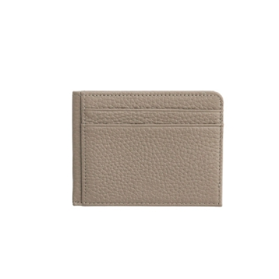 슈렁큰 소가죽 카드지갑(그레이)w16873