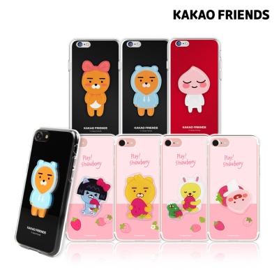 카카오프렌즈 아이폰6 6S 푸딩 하드 젤리/아크릴 케이스