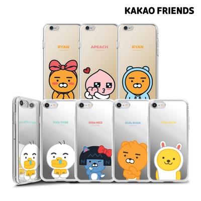 카카오프렌즈 아이폰6 6S 미러 젤리 케이스