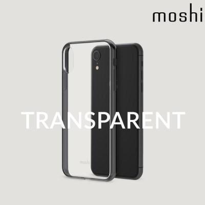 모쉬 아이폰XR 투명 소프트케이스 비트로스_블랙