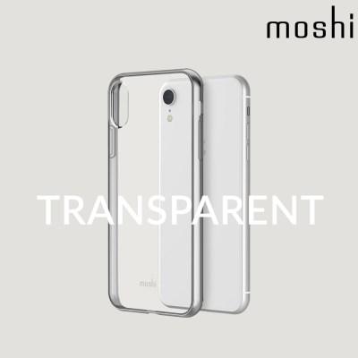 모쉬 아이폰XR 투명 소프트케이스 비트로스_실버