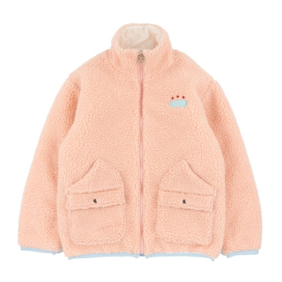 [어나더프레임] (누빔)FLEECE 2WAY POCKET JACKET (PINK)_(908408)