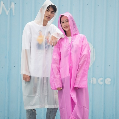 갓샵 고탄력 방수원단 EVA 레인코트 6color 우비 우의 비옷