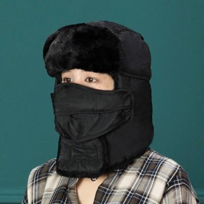 H-3[트래퍼햇]에스키모 귀달이 모자/방한모자 군밤모자 털모자