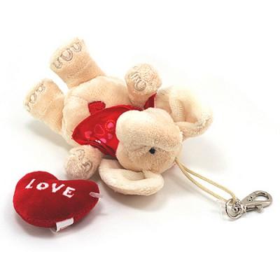 맥스앤밀리-12cm 빈백 - 코끼리 Love