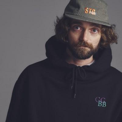 [기모]STG GGBB hoodie BLACK