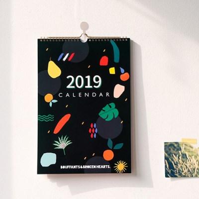 2019 BBH 벽걸이 캘린더