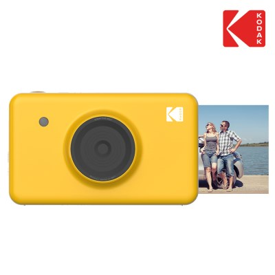 휴대용 포토 프린터 코닥 미니샷 옐로우 + 30매 카트리지 + 파우치