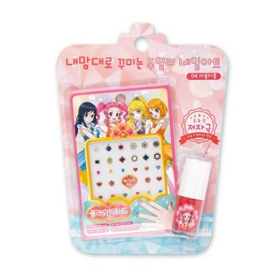 어린이화장품 플로릿 플라워링하트 주얼리 네일아트 키트 04아옹다홍