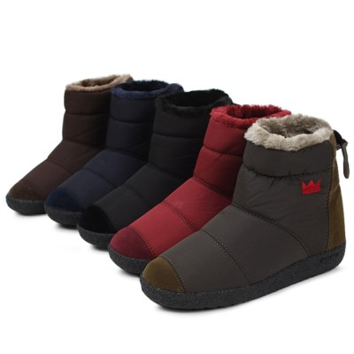 kami et muse Suede combi short pedding boots_KM18w154