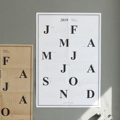 2019 워너디스 클래식 포스터 캘린더