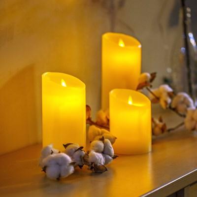 리얼왁스 LED촛불 3사이즈 led캔들 led초 은은한분위기