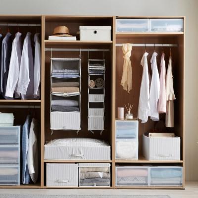 샘베딩 스트라이프 옷장 수납 시리즈