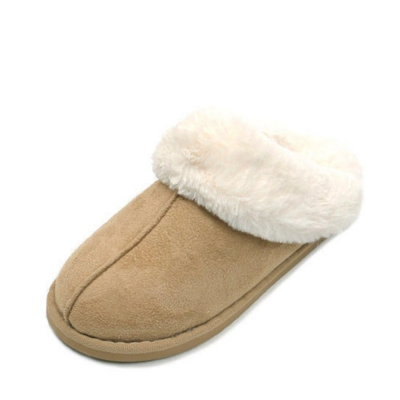 kami et muse Rich fur sweet color slippers_KM18w168