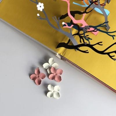 벚꽃엔딩 이어링 (white/pink)