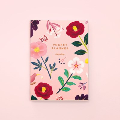 만년형 GARDEN BLOOM POCKET PLANNER – BLUSH