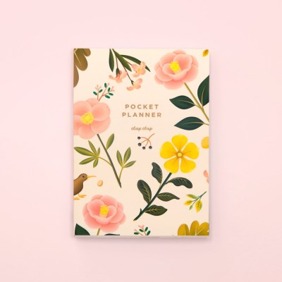 만년형 GARDEN BLOOM POCKET PLANNER – CREAM