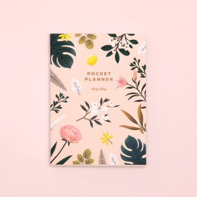 만년형 BOTANICAL POCKET PLANNER – PINK
