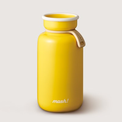 [MOSH] 모슈 보온보냉 라떼 텀블러 450 옐로우