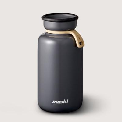 [MOSH] 모슈 보온보냉 라떼 텀블러 450 블랙
