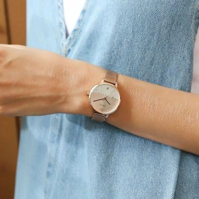 [쥴리어스정품 ]JA-1100 여성시계/손목시계/메쉬밴드