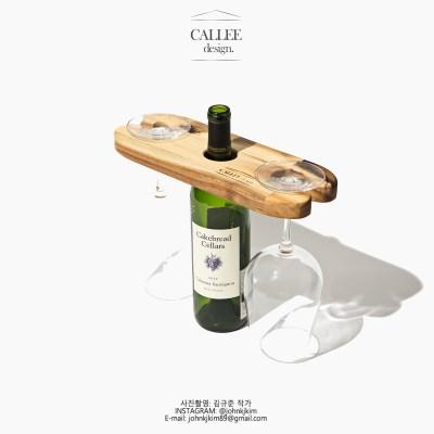 와인받침대 오크