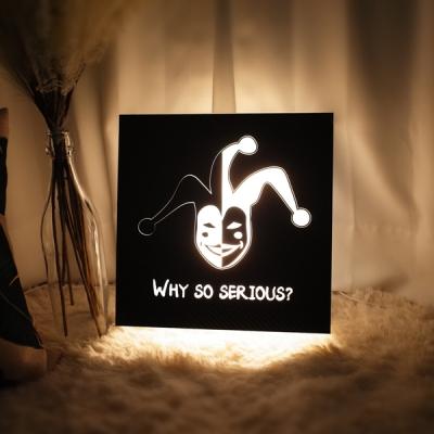 와쏘시리어스 문구제작 인테리어 LED 무드간판등 생일선물