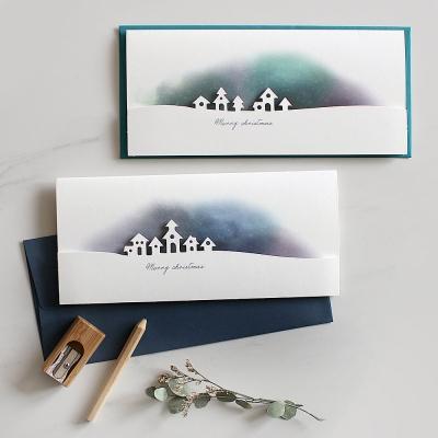 디비디 크리스마스 카드 - Aurora