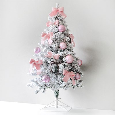 크리스마스 스노우 트리세트 4color-120cm